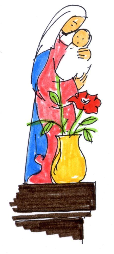 Anécdotas sobre Virgen María